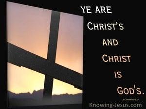 1 Corinthians 3:21