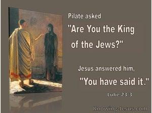 Luke 23:3