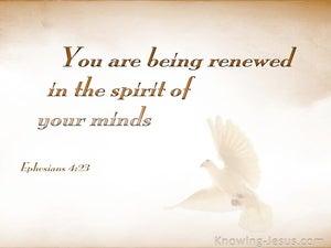 Ephesians 4:23