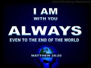 Matthew 28:20