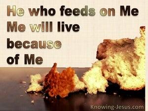 John 6:57