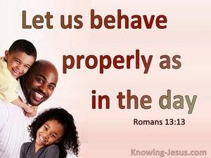 Romans 13:13