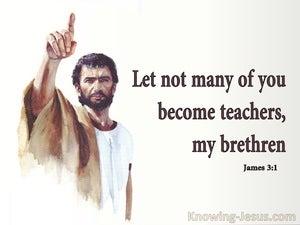 James 3:1