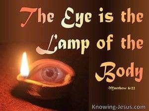 Matthew 6:22