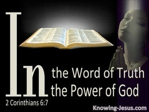 2 Corinthians 6:7