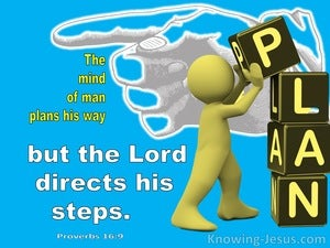 Proverbs 16:9