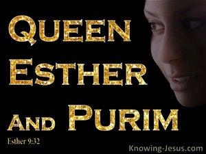 Esther 9:32