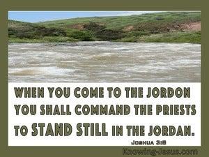 Joshua 3:8