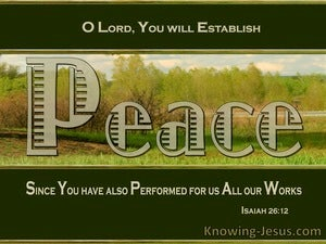 Isaiah 26:12