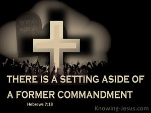 Hebrews 7:18