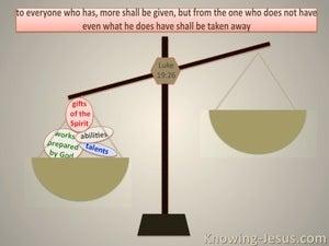 Luke 19:26