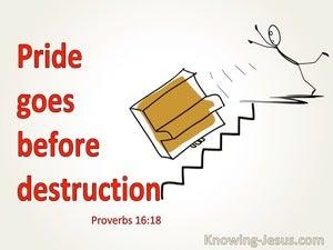Proverbs 16:18