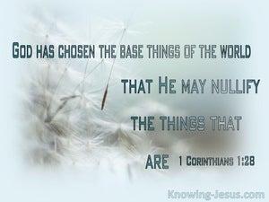 1 Corinthians 1:28