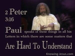 2 Peter 3:16