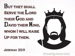 Jeremiah 30:9