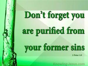 2 Peter 1:9