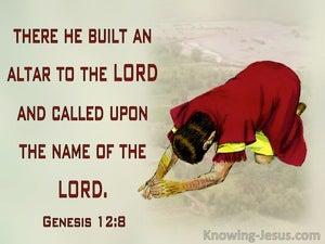 Genesis 12:8