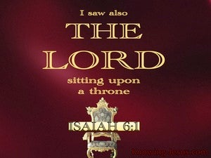 Isaiah 6:1
