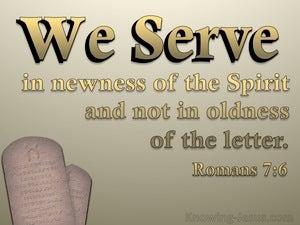 Romans 7:6
