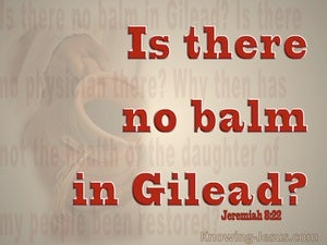 Jeremiah 8:22
