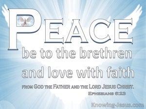 Ephesians 6:23