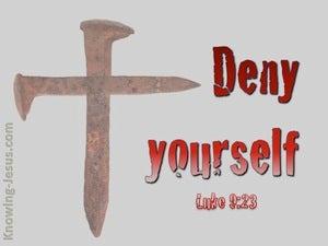 Luke 9:23