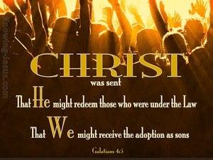 Galatians 4:5