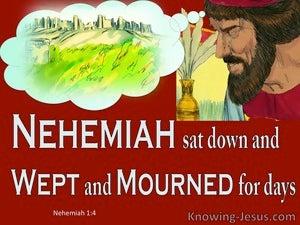 Nehemiah 1:4