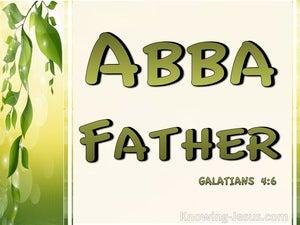 Galatians 4:6