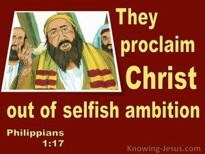 Philippians 1:17