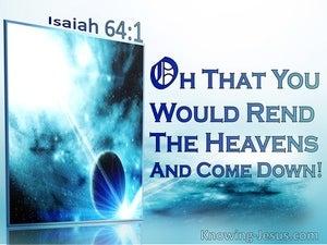 Isaiah 64:1