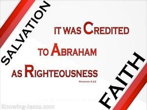 Romans 4:22