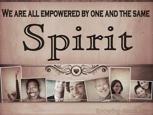 1 Corinthians 12:11