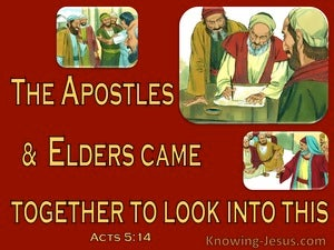 Acts 5:14