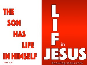 John 5:26
