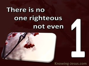 Romans 3:10