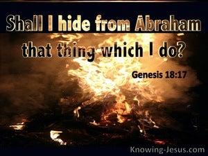 Genesis 18:17
