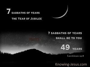 Leviticus 25:8