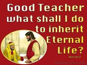 Mark 10:17