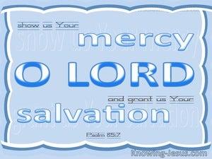 Psalm 85:7