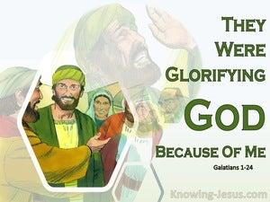 Galatians 1:24