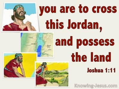 Joshua 1:11