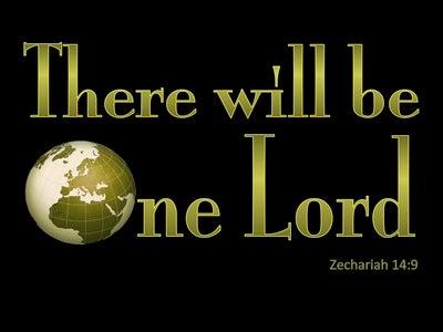 Zechariah 14:9