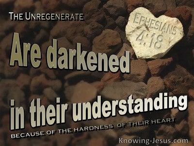 Ephesians 4:18