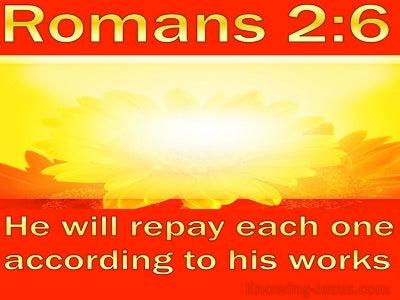 Romans 2:6