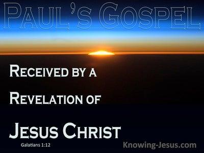Galatians 1:12