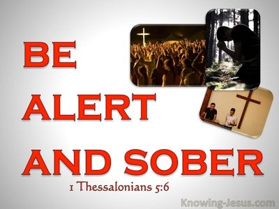 1 Thessalonians 5:6