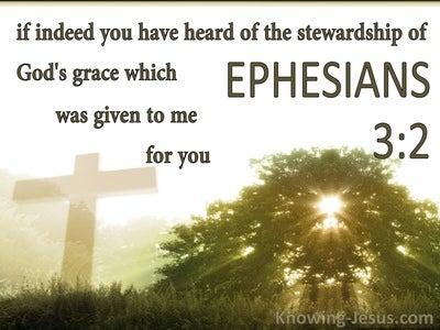 Ephesians 3:2