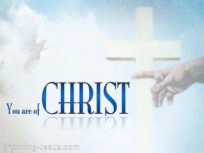 1 Corinthians 3:23
