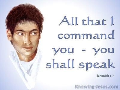 Jeremiah 1:7